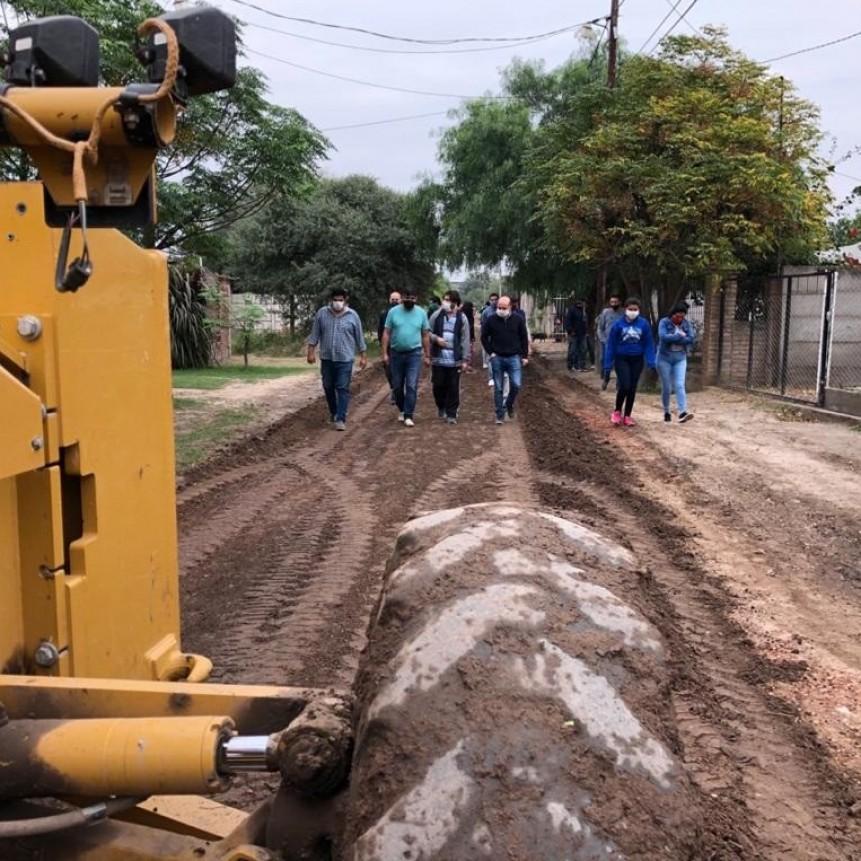 """Mirolo participó del Operativo """"Tu patio limpio"""" en el barrio IV Centenario"""