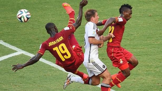 Alemania no pudo imponer su poderío y empató con Ghana