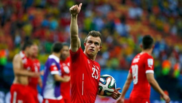 Suiza goleó a Honduras y será el próximo rival de Argentina