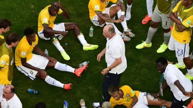Brasil eliminó a Chile de la Copa del Mundo en un partido épico