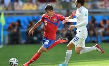 Costa Rica empató con Inglaterra y quedó como líder del grupo D
