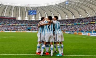 Argentina venció a Nigeria y se clasificó primera en el Grupo F