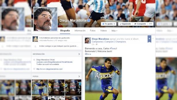 Maradona se adelantó y ya dio por hecha la llegada de Tevez:
