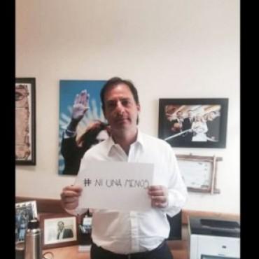 Un funcionario oficialista que se sumó a la campaña #NiUnaMenos tuvo denuncias por malos tratos