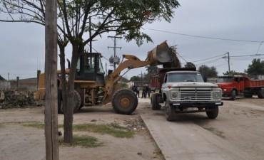 El Intendente supervisó obras en los barrios de la ciudad