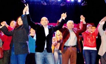 Mirolo dio a conocer los candidatos que lo acompañarán en la lista de diputados por el frente UNA