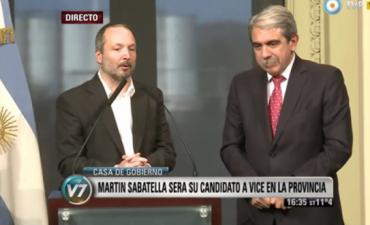 Aníbal Fernández llevará a Martín Sabbatella como compañero de fórmula en Provincia