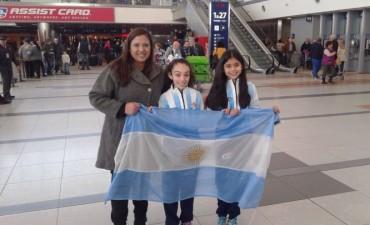 Integrantes del Seleccionado Argentino de Patín agradecieron al intendente
