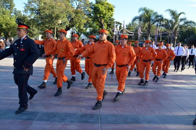 El intendente Mirolo destacó el rol de los bomberos voluntarios a la comunidad