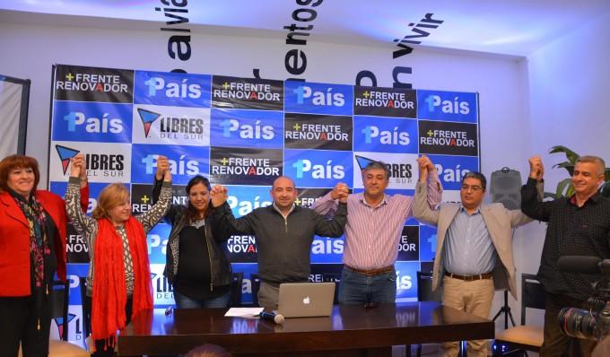 Mirolo encabeza la lista de precandidatos del Frente Renovador 1 País