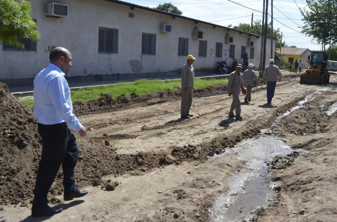 Mirolo destacó el avance en el Plan de Pavimentación y mejoramiento de calles