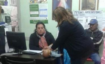 Vecinos del barrio Ampliación 1º de Mayo fueron capacitados en cuidados básicos de la salud