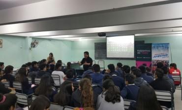 Municipio y Nación realizaron una charla sobre cómo prevenir el suicidio adolescente
