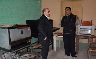El intendente visitó el  primer proyecto productivo del Programa Municipal Emprendiendo Sueños