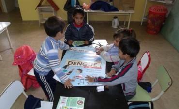 Continúan las charlas preventivas sobre Dengue en jardines de infantes