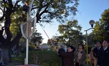 Emotiva promesa a la bandera de los Jardines de Infantes Municipales