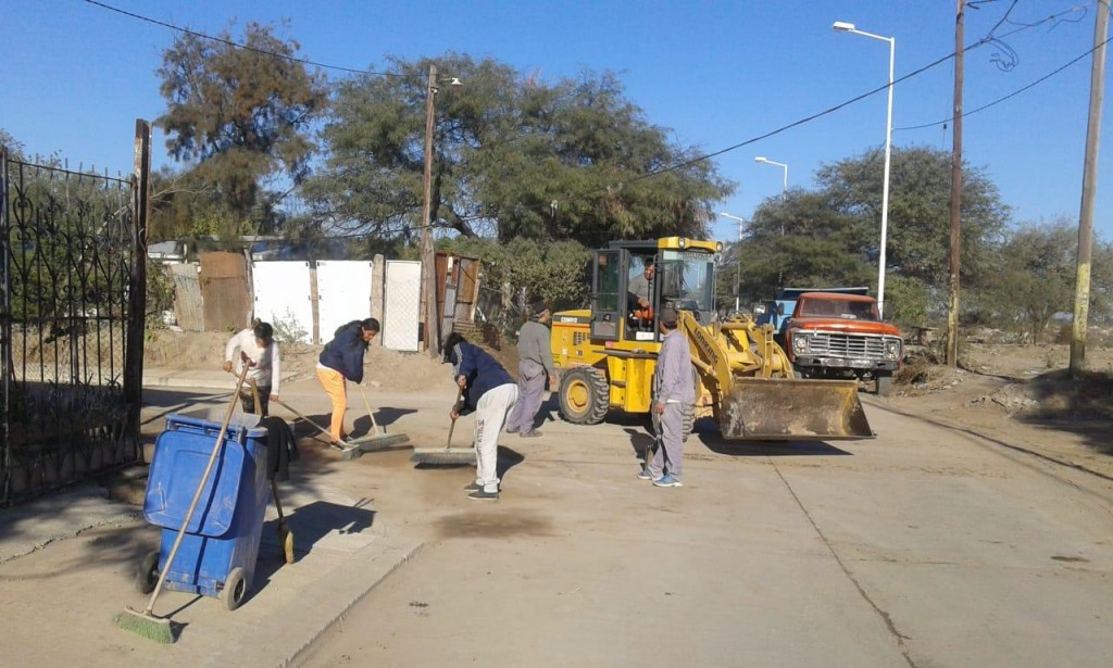 La comuna crea nuevas brigadas para reforzar la limpieza en los barrios