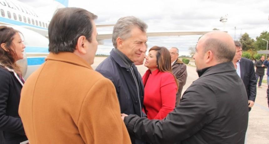 """Mirolo: """"Gracias a la visita del Presidente pudimos mostrar que nosotros estamos progresando"""""""