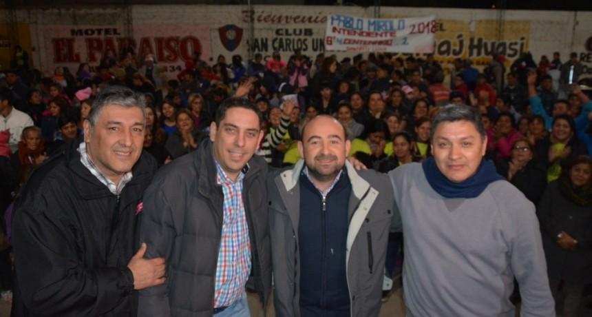 El intendente destacó el trabajo de los comedores y merenderos municipales que asisten a 6 mil personas por día