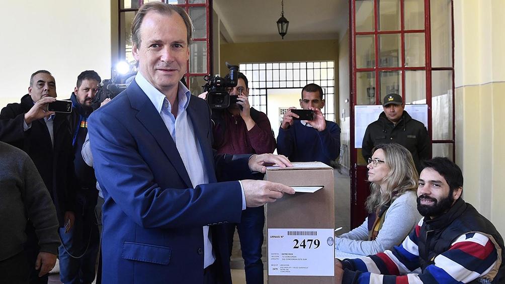 Bordet gobernará cuatro años más y el PJ también ganó en Paraná