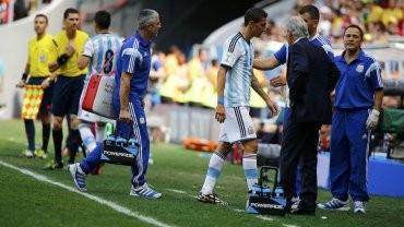 Preocupación en la Argentina por la lesión de Ángel Di María