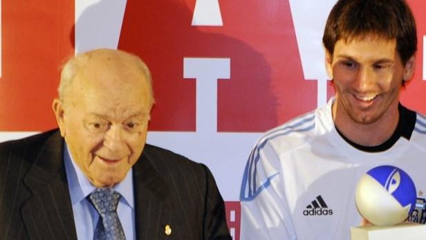 Messi, despidió al 'astro':