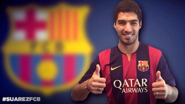 Oficial: Suárez es el refuerzo más caro de la historia del Barcelona