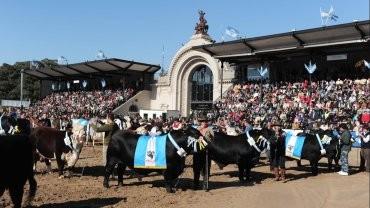 Macri encabeza la apertura de la 128 muestra de La Rural