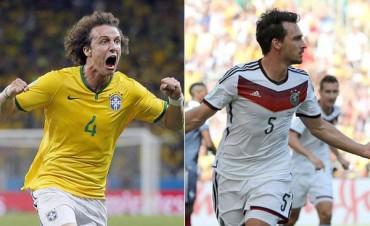 Brasil y Alemania, por un lugar en la final del Mundial