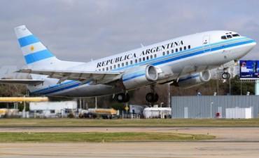Presidencia sumó un avión a su flota y lo bautizó