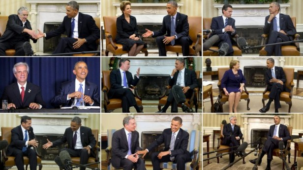 Los presidentes latinoamericanos que Obama recibió en EEUU
