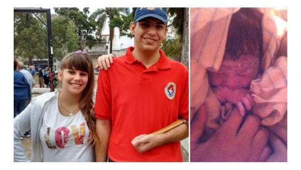 Guiado por su padre, un joven bombero de 16 años ayudó a parir a su hermana de 15