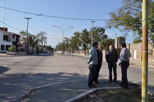Se remodelará la avenida San Martín en toda su extensión