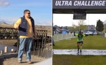 La historia del hombre que superó su obesidad y llegó a correr una ultramaratón