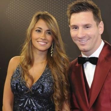 Internaron a la mujer de Lionel Messi