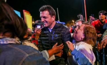 Sergio Massa llegará el viernes Santiago del Estero