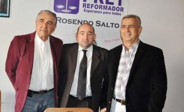 """Mirolo en la inauguración de sede de UNA en Capital: """"El domingo tendremos la visita de Massa"""""""
