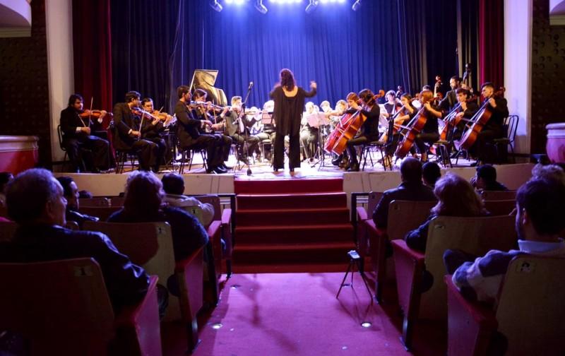 La presentación del Concierto Sinfónico en el Renzi fue un éxito