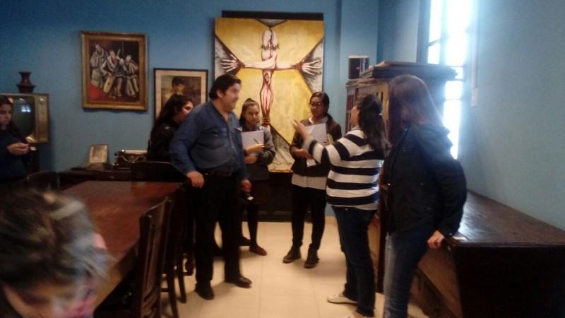 Alumnos de la Escuela Técnica Nº 6 fueron capacitados en el Museo Municipal
