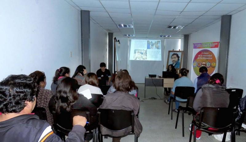 Control Alimentario y Saneamiento Ambiental dictó un curso sobre manipulación de alimentos