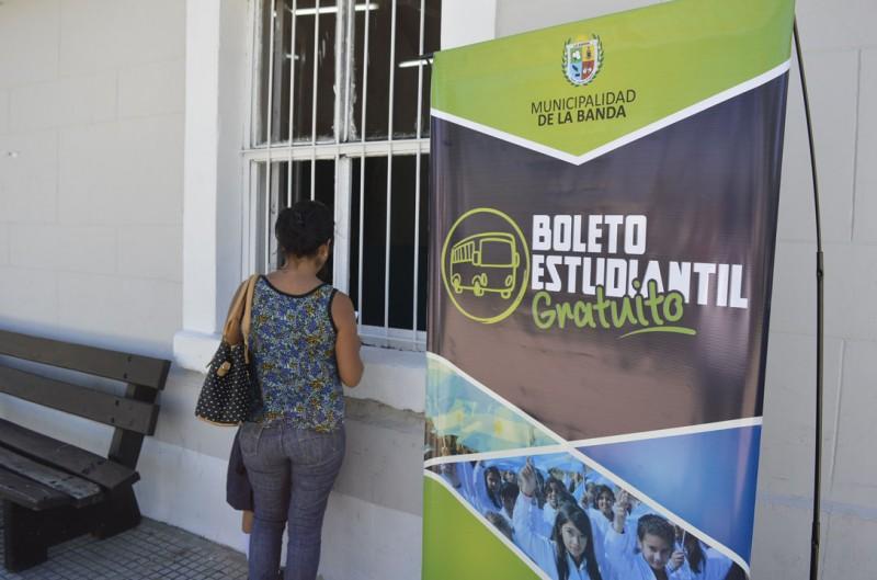Tránsito hizo cambios en el trámite para acceder al Boleto Estudiantil Gratuito