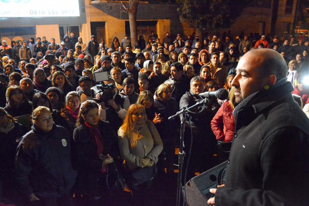 Mirolo sumó el apoyo de la agrupación Comandante Manuel Besares de cara a las elecciones municipales