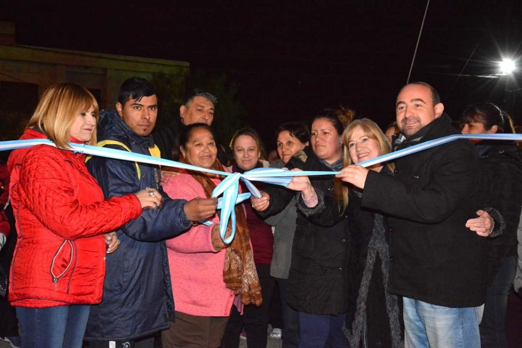 El intendente Mirolo inauguró un nuevo espacio recreativo en el barrio Palermo