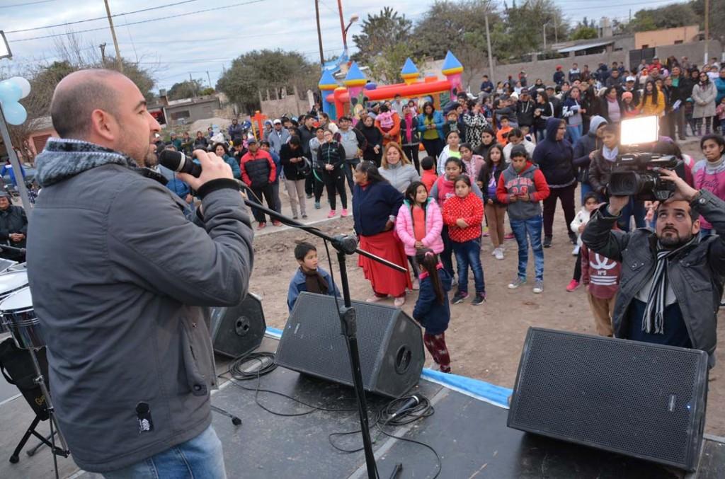 Gran fiesta en el barrio Gorrini por el Día de la Independencia y el cumpleaños del Club Quilmes
