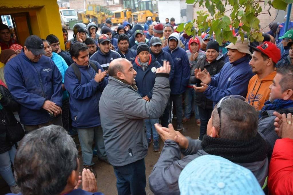 Mirolo anunció el pago del bono de anticipo de fin de año a todos los empleados municipales