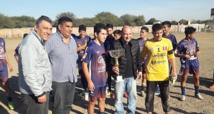 Mirolo participó de  los Festejos de los 77 Aniversarios del Club Agua y Energía