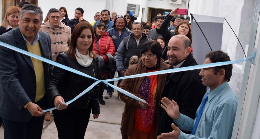 Mirolo inauguró un salón para cursos de formación laboral y reafirmó el compromiso con la Inserción Laboral