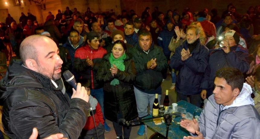 Municipales ratificaron su respaldo a la fórmula Mirolo-Nediani