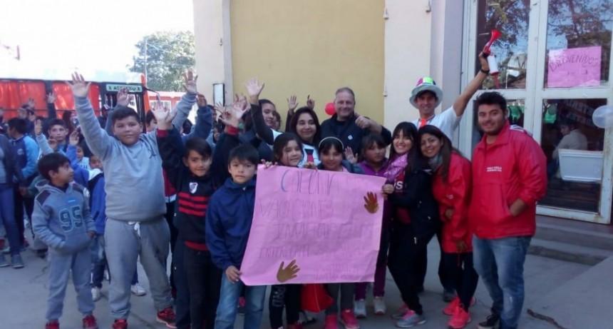 Niños de Sauce Bajada también disfrutaron de la Colonia de Vacaciones Municipal