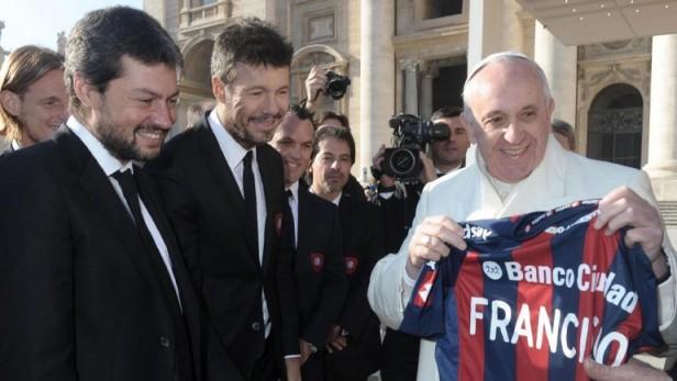 El papa Francisco habló sobre la consagración de San Lorenzo en la Libertadores: